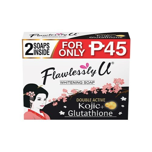 Flawlessly U - Bath Soap - Double Active Kojic Acid - 65g