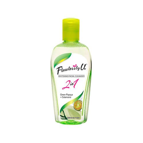 Flawlessly U Facial Cleanser Green Papaya + Calamansi 75mL