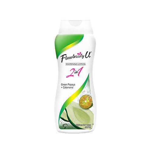 Flawlessly U Hand _ Body Lotion Green Papaya + Calamansi 200mL