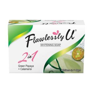 Flawlessly U - Soap - Green Papaya + Calamansi - Box